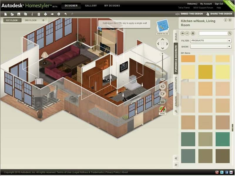 Phần mềm vẽ 3D nội thất