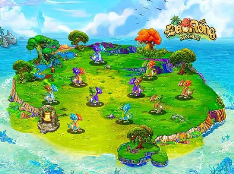 Phiên bản mới Đảo rồng Mobile