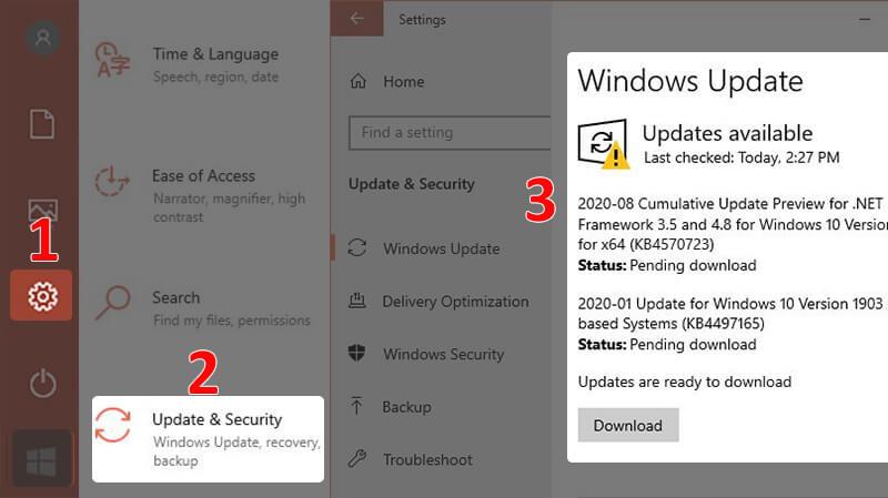 Tăng tốc máy tính bằng cách update