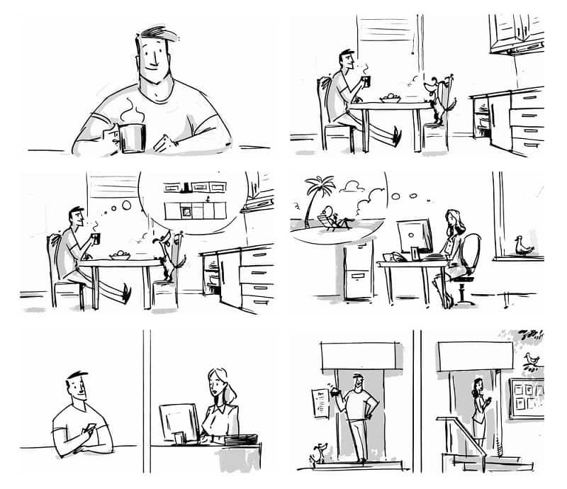 Vai trò của Storyboard
