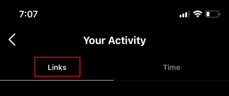 كيفية حذف المواقع التي زرتها في إنستغرام