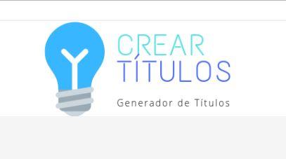 Crear Títulos (Generador de Títulos en Español
