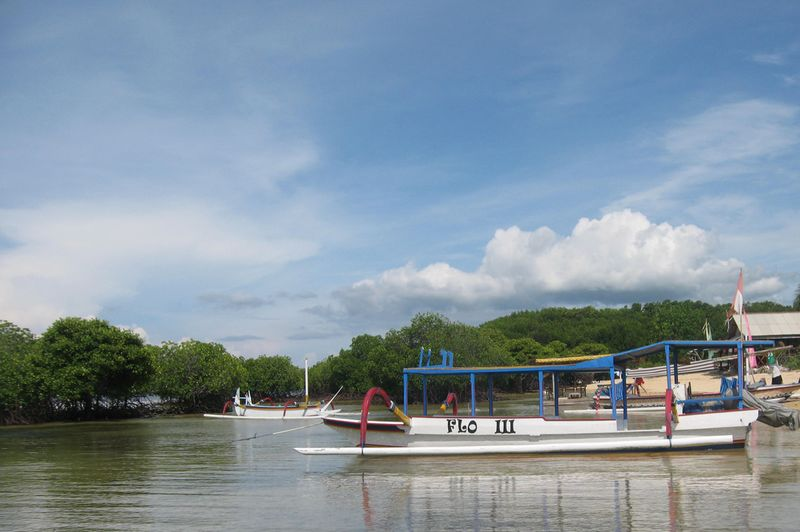 File:Nusa Lembongan Mangroves and Jukung Boat.jpg