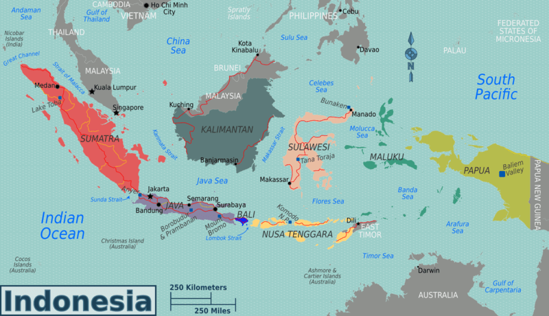 800px-Indonesia_regions_map Indonesia On World Map Northeastern on belarus on world map, republic of congo on world map, strait of malacca map, philippines on world map, thailand map, jakarta world map, a turkey on world map, new zealand on a world map, burma on world map, pakistan on world map, bering sea on world map, russia on world map, england on a world map, israel on world map, the sudan on world map, chile on world map, madagascar on world map, fiji on world map, taiwan on world map, east indies on world map,