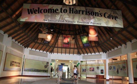 Главный вход в пещеру Харрисона.