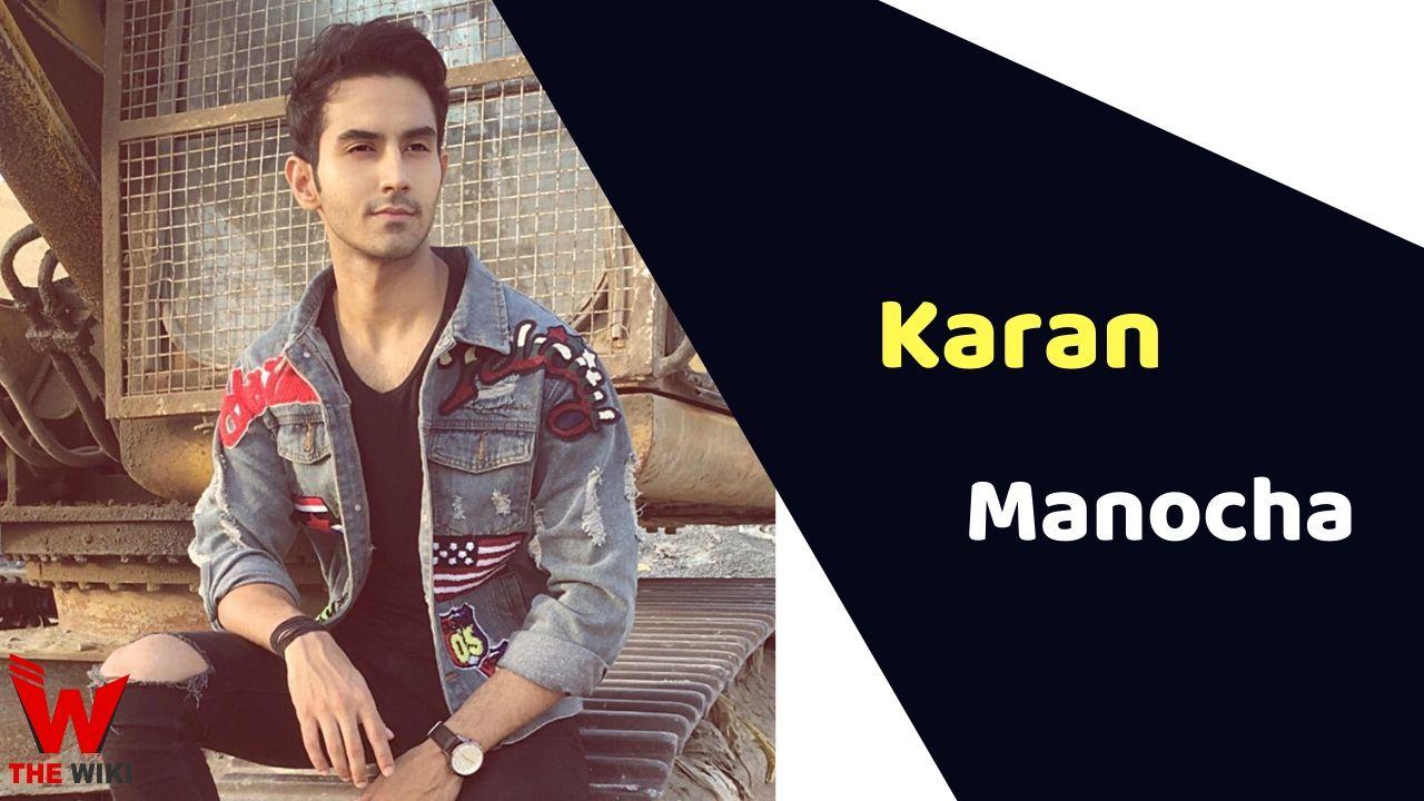 Karan Manocha (Actor)
