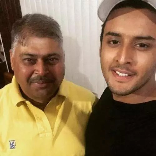Shagun Pandey's Father