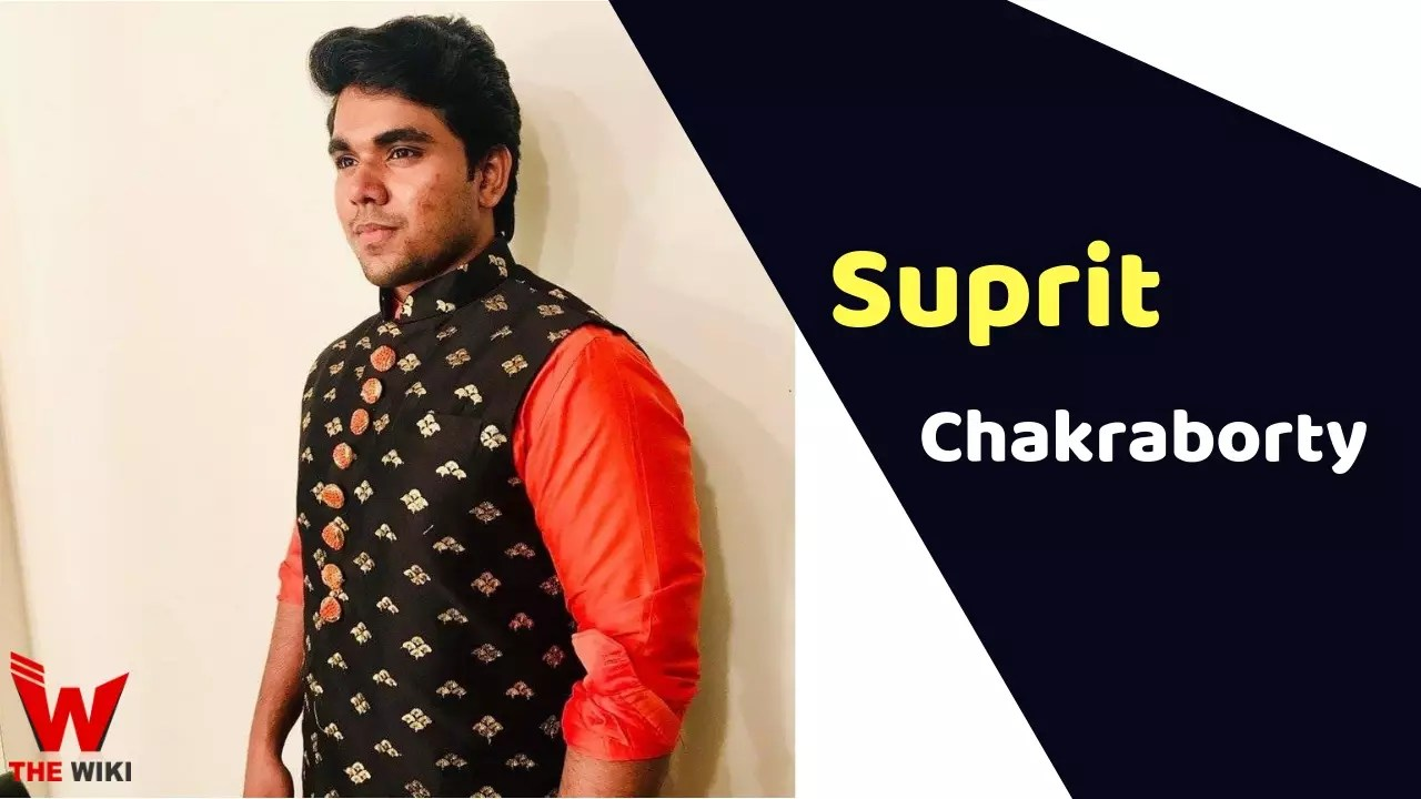 Suprit Chakraborty (Sa Re Ga Ma Pa)