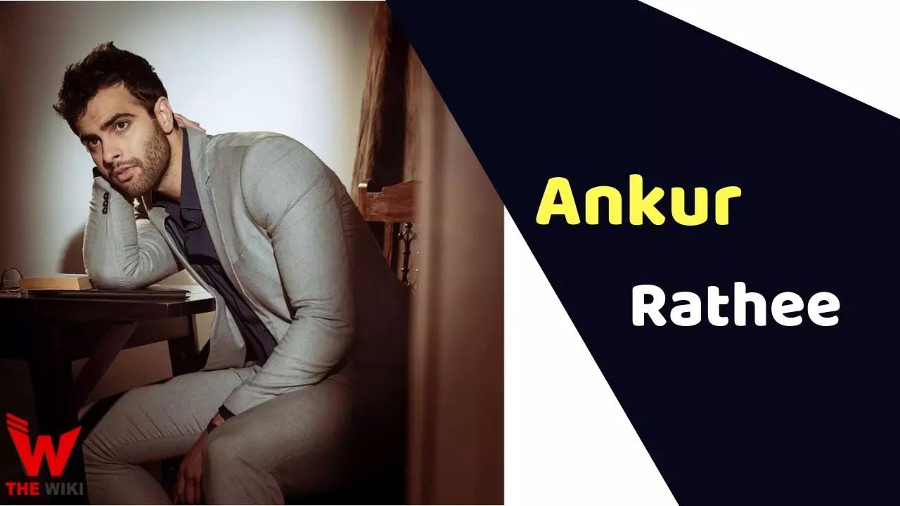 Ankur Rathee (Actor)