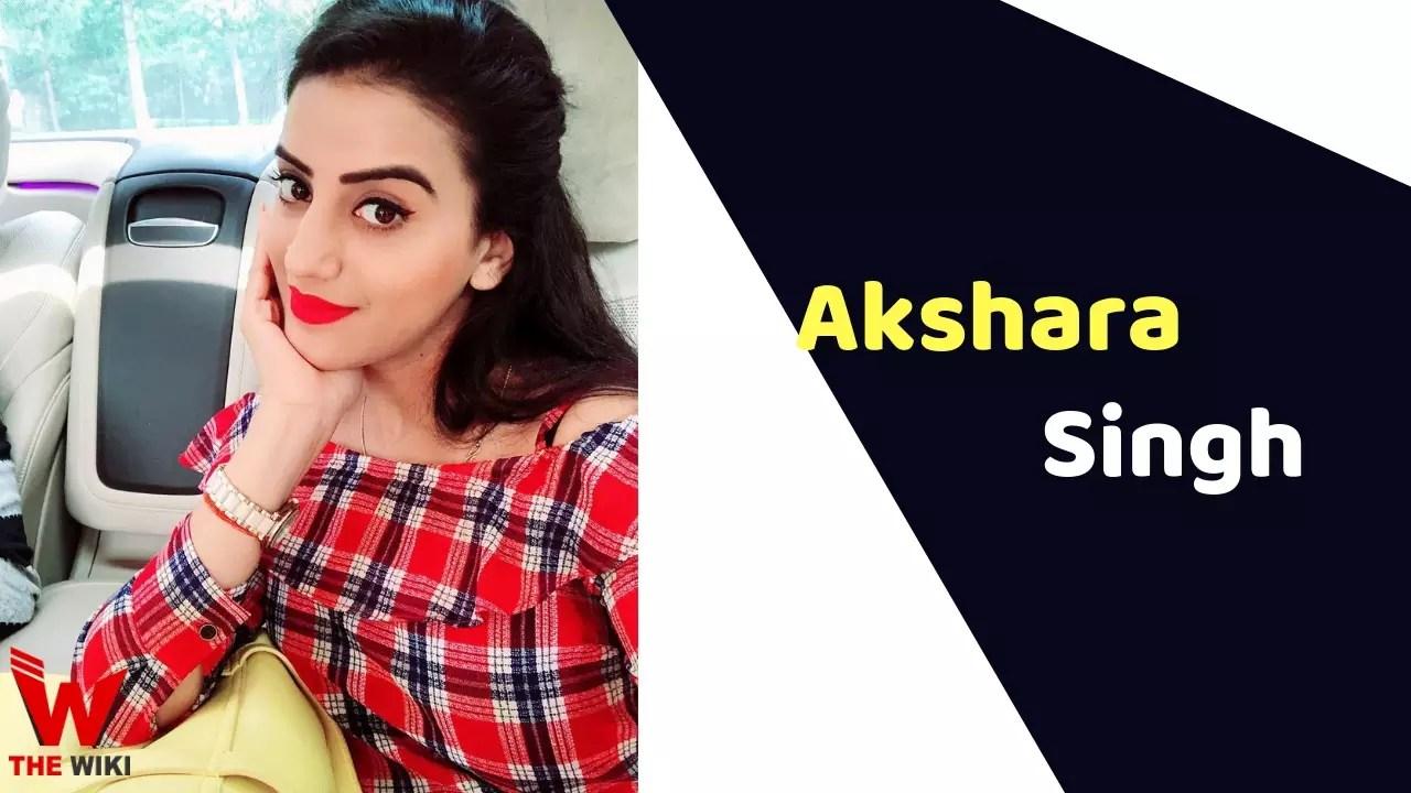 Akshara Singh (Actress)