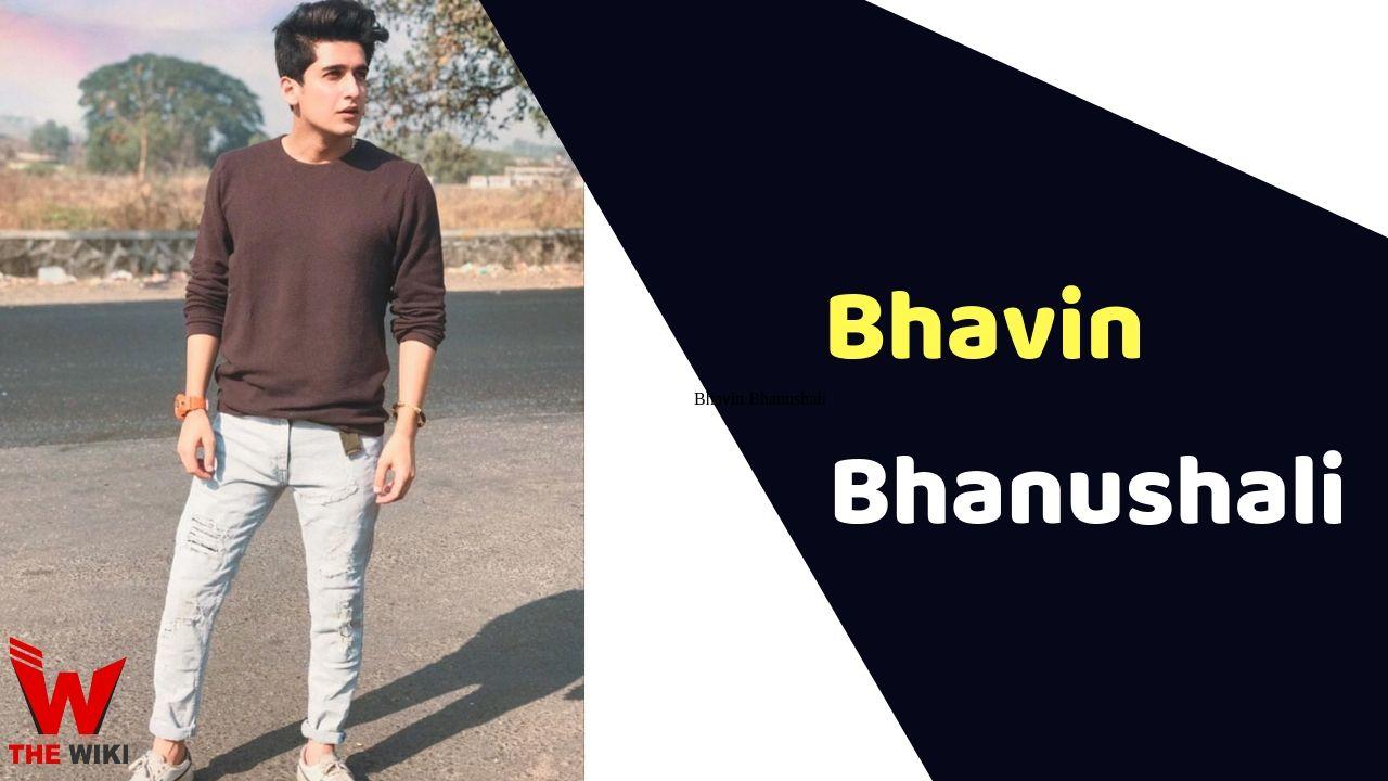 Bhavin Bhanushali (Actor)