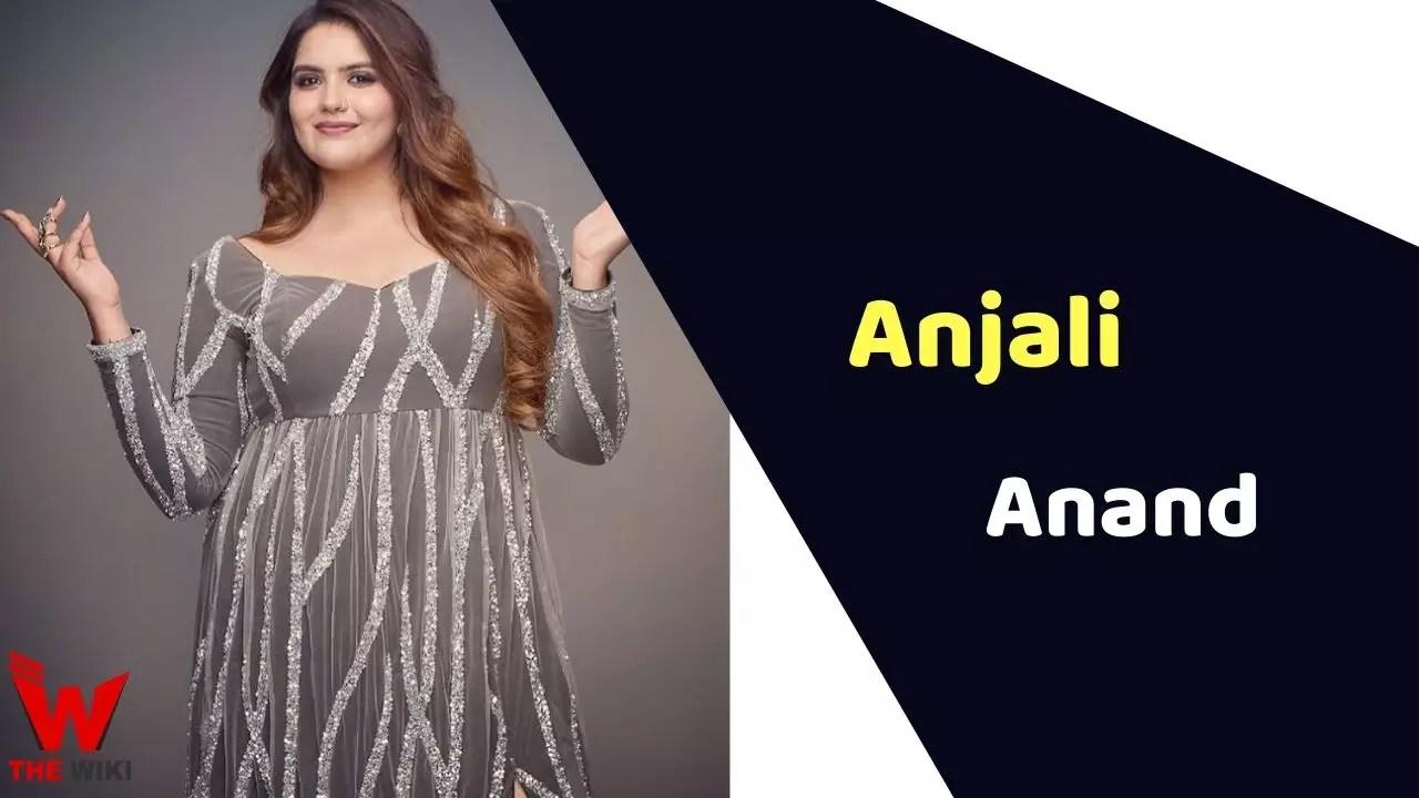 Anjali Anand (Actress)