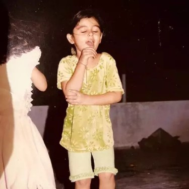 Yasha Rughani Childhood Picture