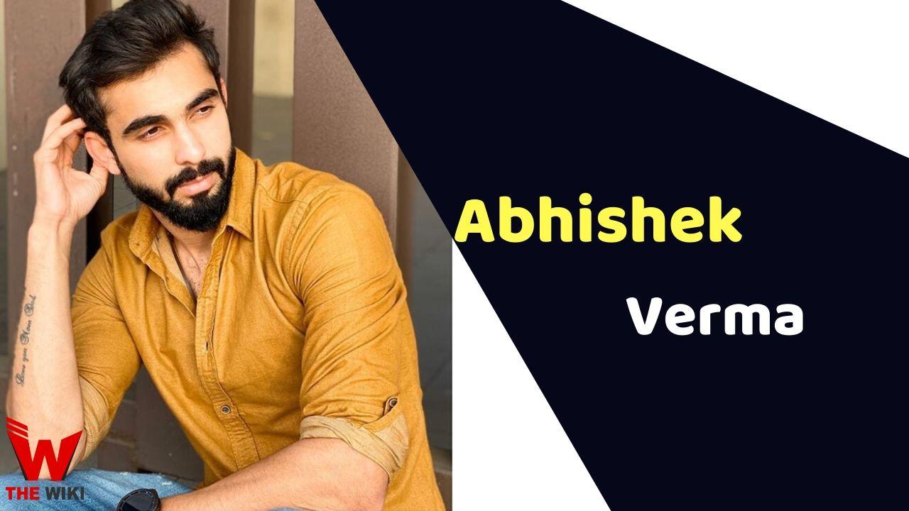 Abhishek Verma (Actor)
