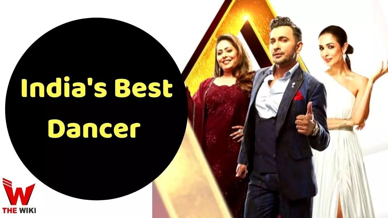 India's Best Dancer (Sony)