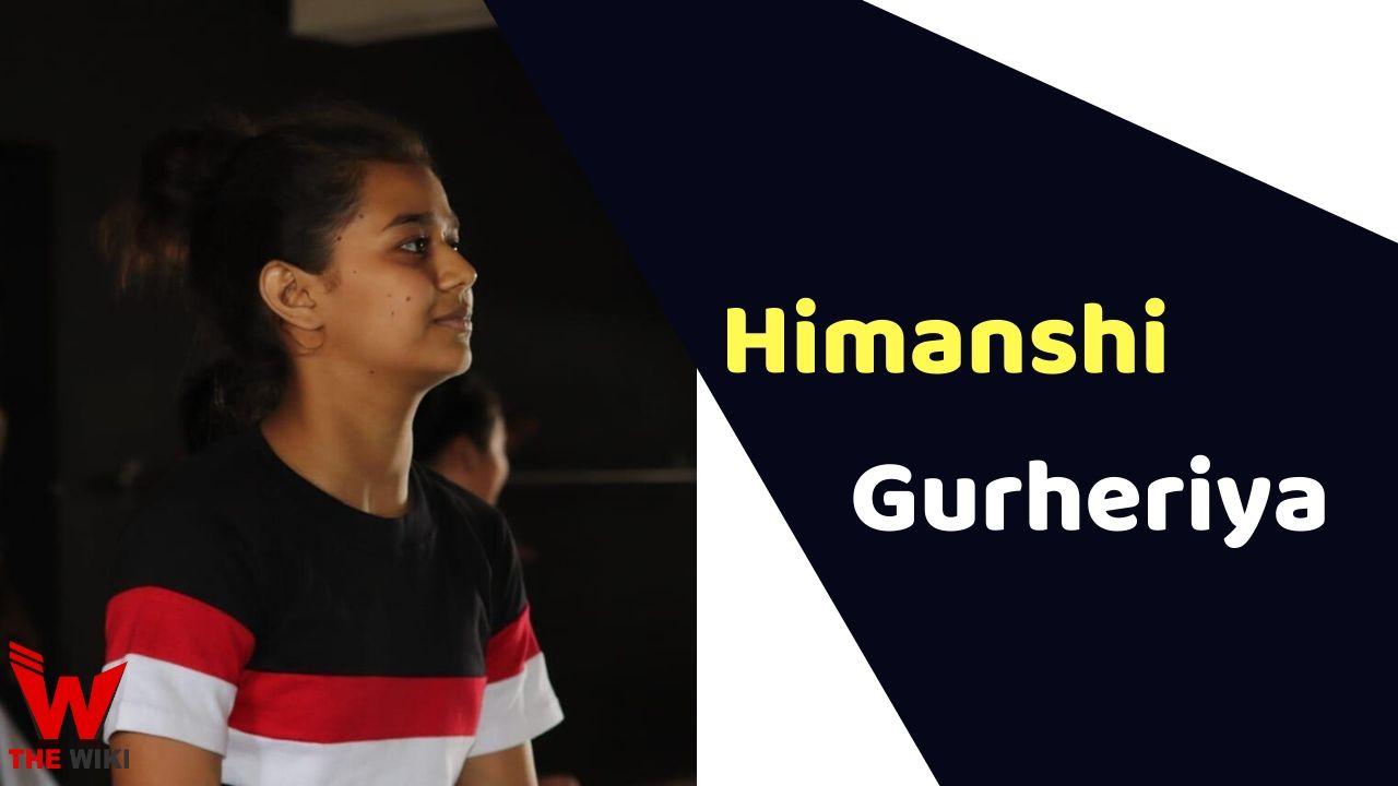 Himanshi Gurheriya (India's Best Dancer)