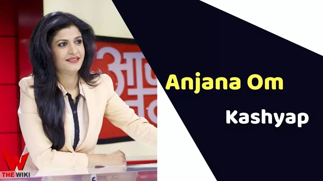 Anjana Om Kashyap (News Anchor)