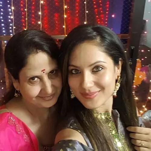Puja Banerjee's Mother