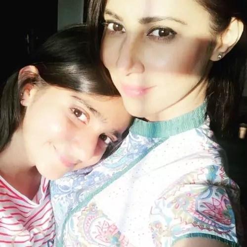 Rishina Kandhari's Daughter