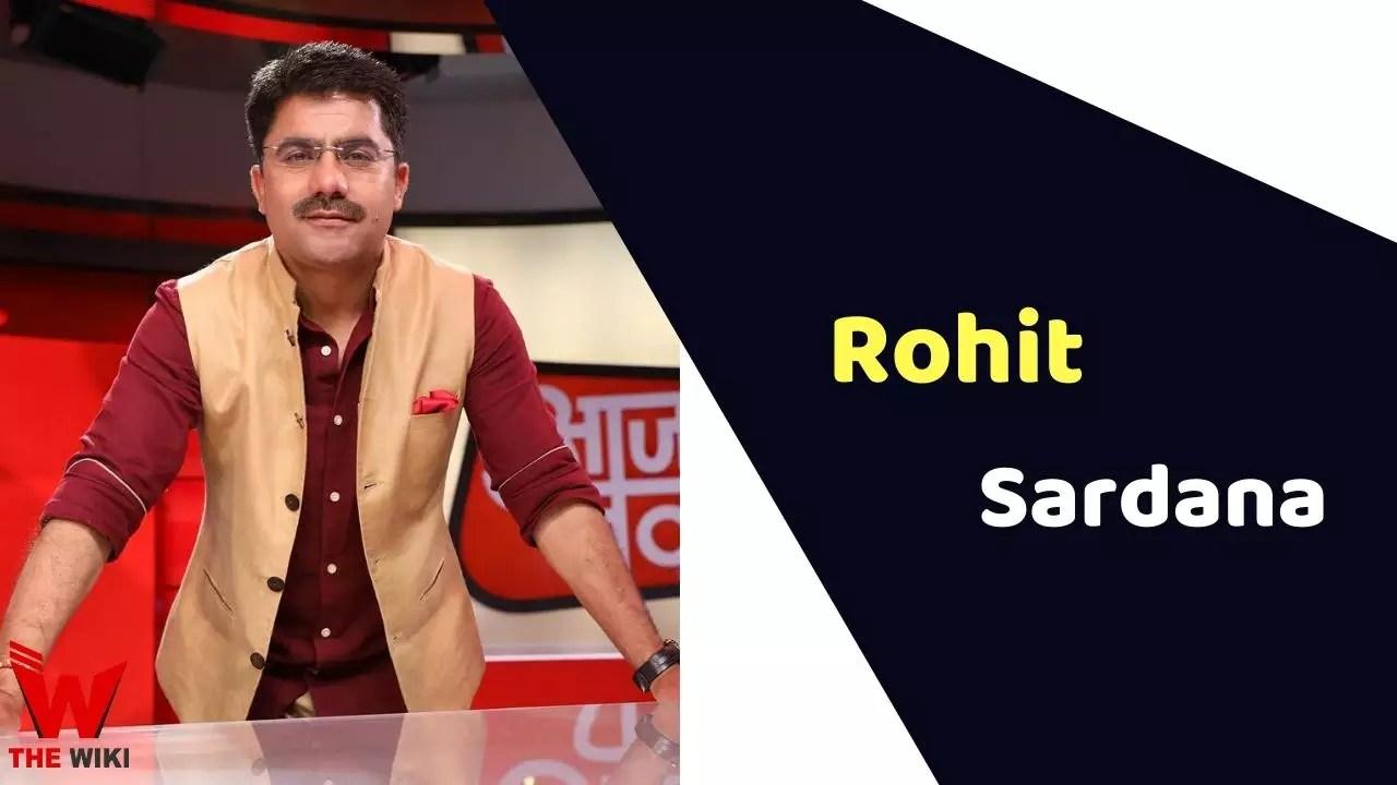 Rohit Sardana (News Anchor)