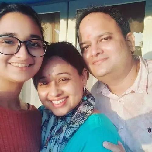 Sonalika Joshi Family