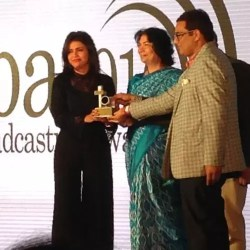 Sweta Singh at Award Ceremony