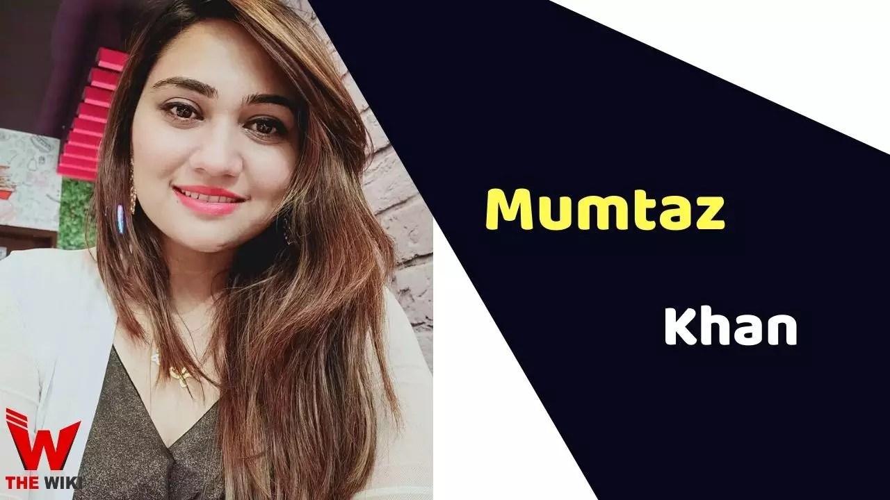 Mumtaz Khan (News Anchor)