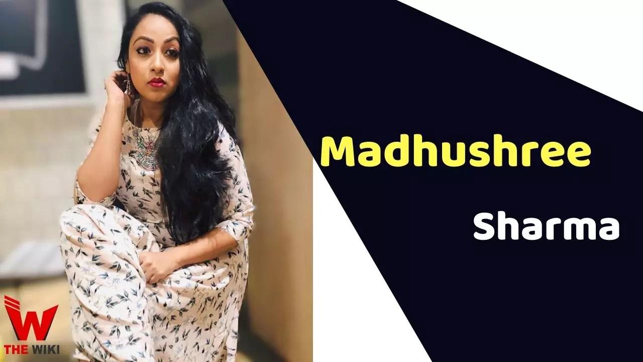 Madhushree Sharma (Actress)