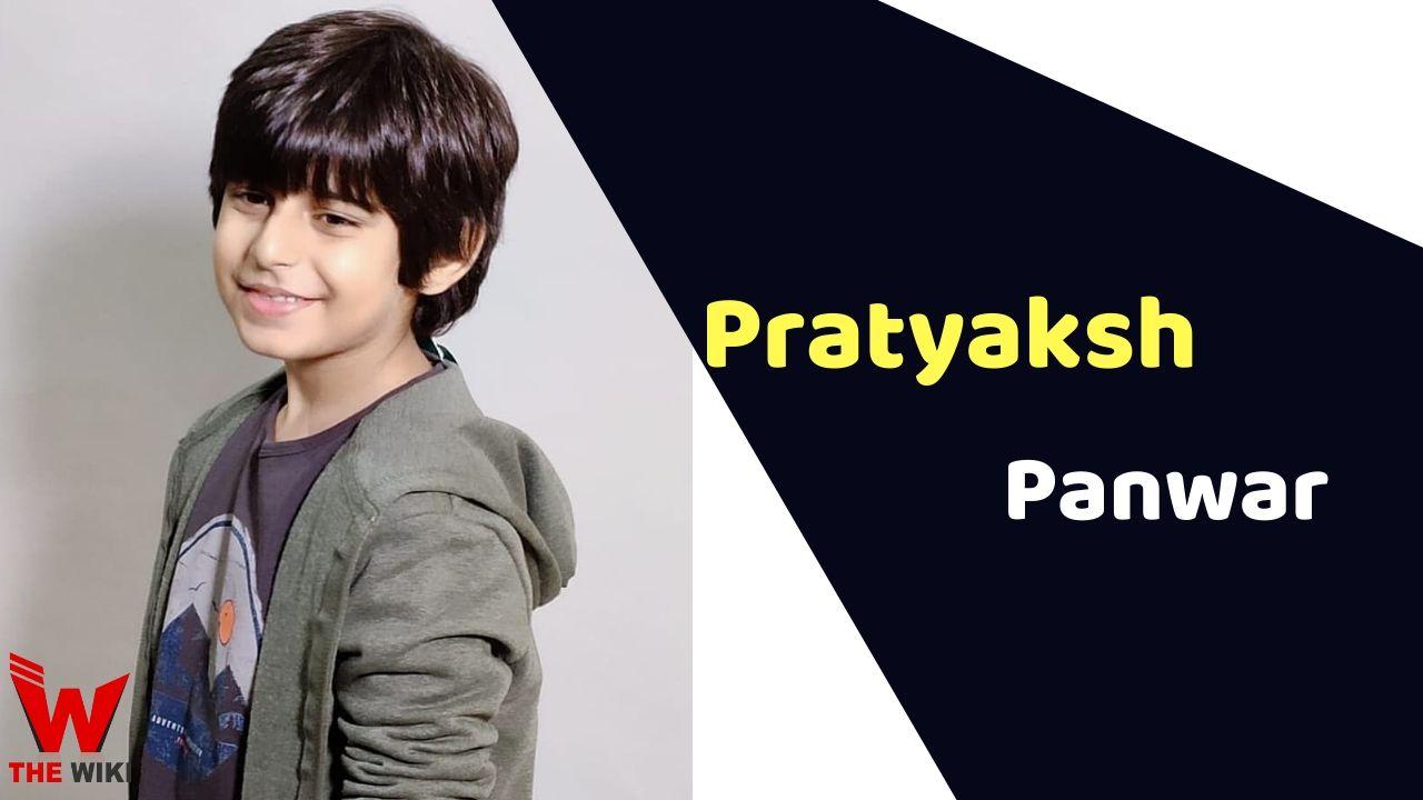 Pratyaksh Panwar (Child Artist)