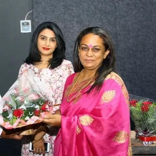Bhakti Rathod Mother
