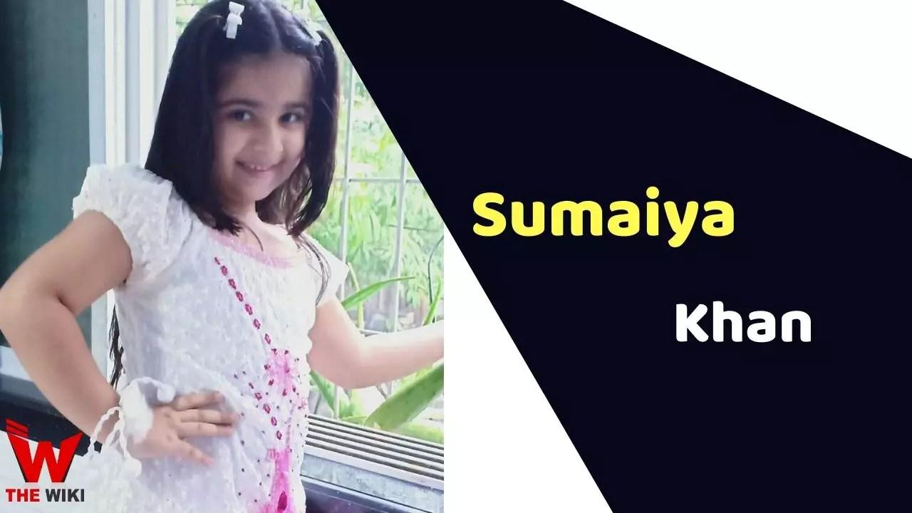 Sumaiya Khan (Child Artist)