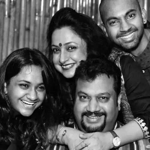 Jaya Ojha Family