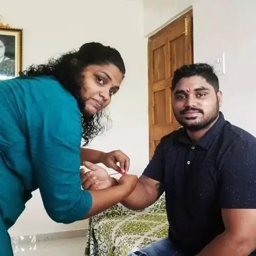 Nikhil Naik Sister