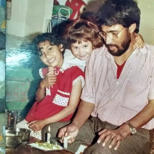 Tanya Purohit Father and Sister