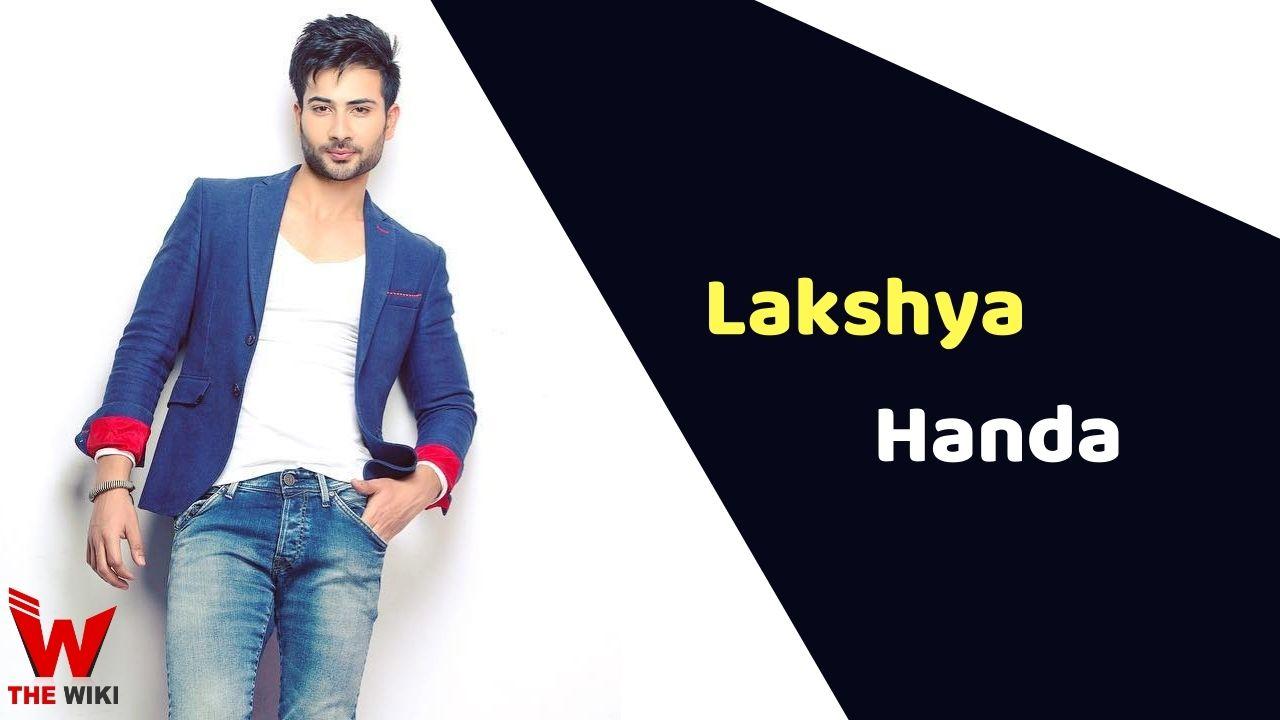 Lakshya Handa (Actor)