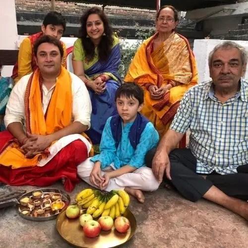 Rajesh Kumar Family