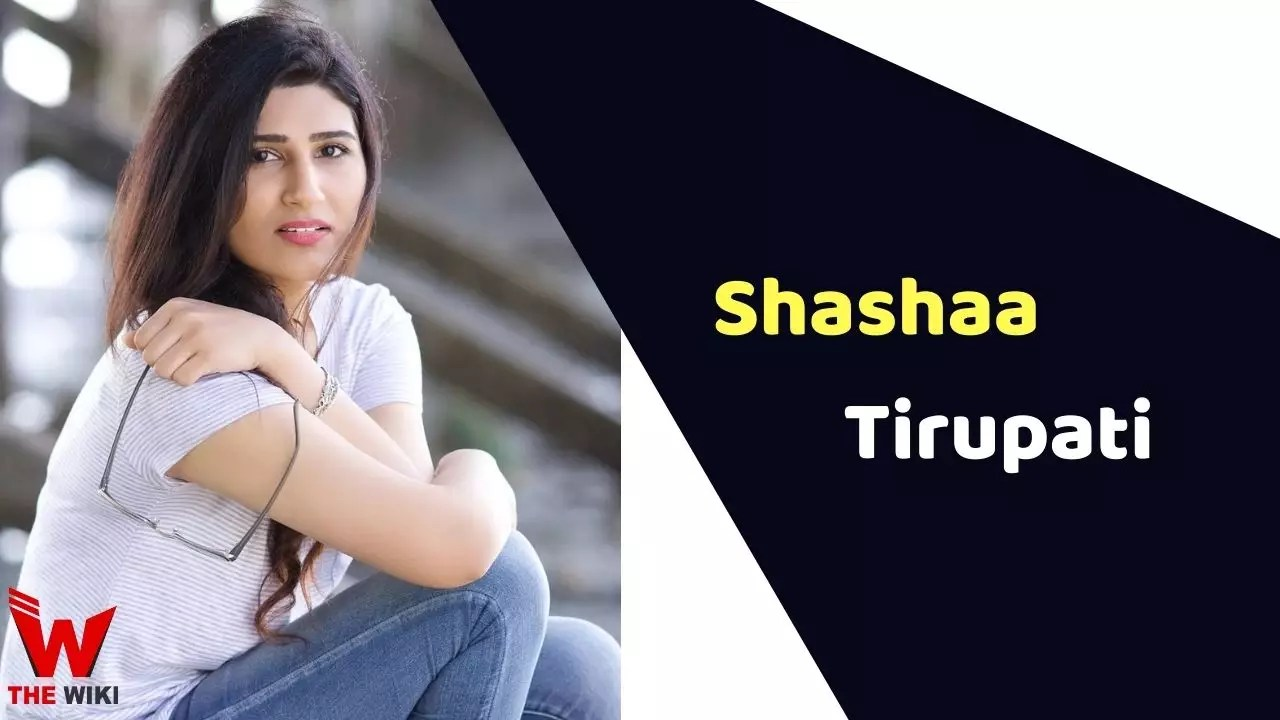 Shashaa Tirupati (Singer)