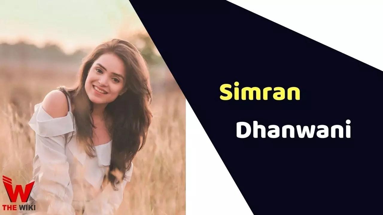 Simran Dhanwani (YouTuber)