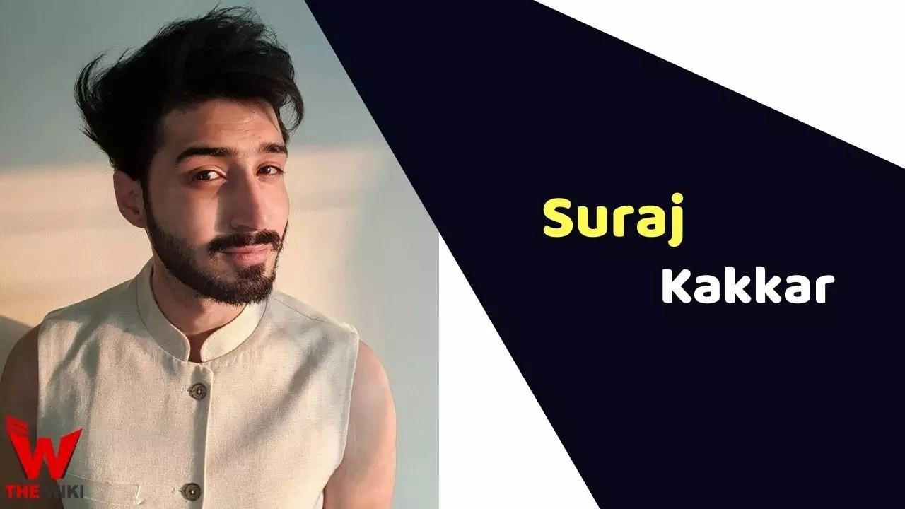 Suraj Kakkar (Actor)