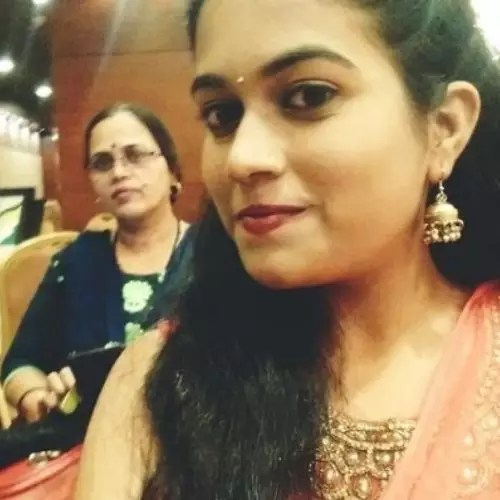 Sayli Kamble with Mother