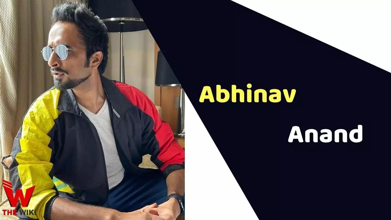 Abhinav Anand (Actor)