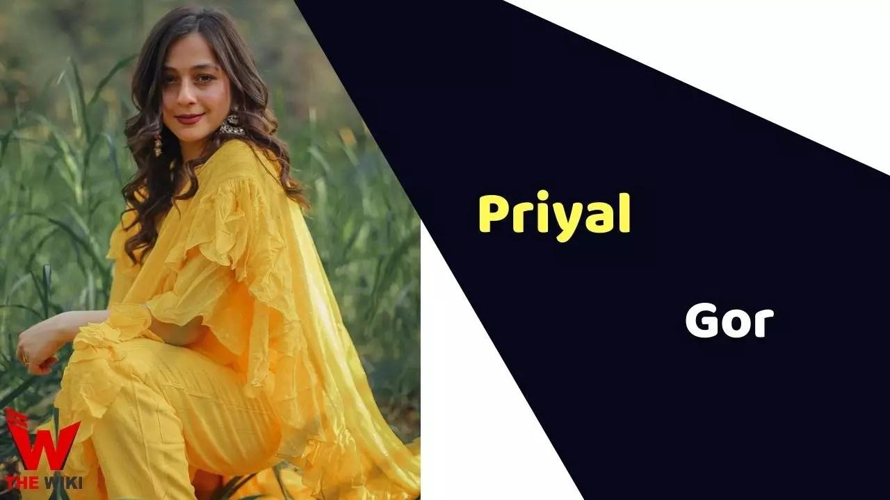 Priyal Gor (Actress)