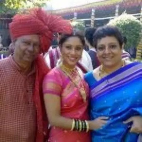 Sai Deodhar with Father and Mother