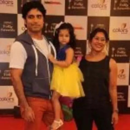 Sai Deodhar with Husband and Daughter