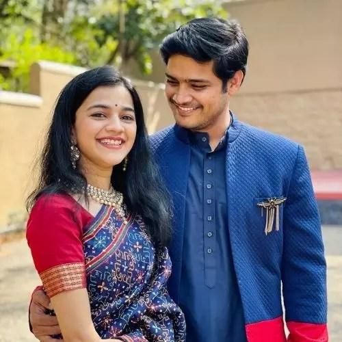 Abhishek Deshmukh with Kritika Dev