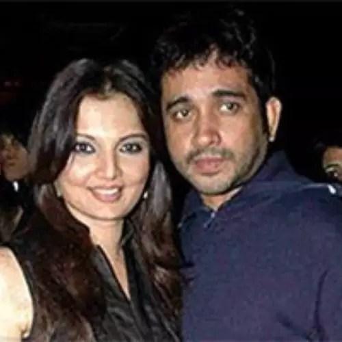 Deepshika Nagpal with Jeet Upendra (Ex-Husband)