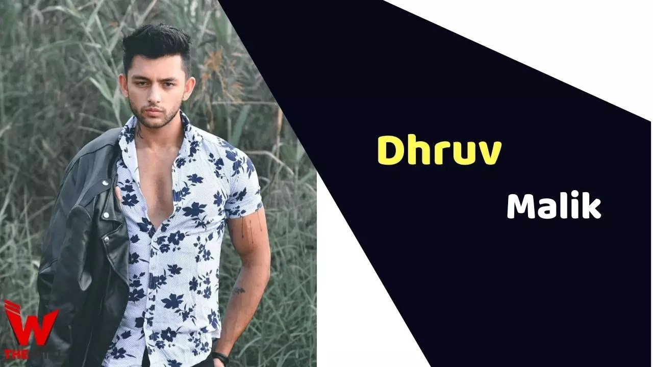 Dhruv Malik (Actor)