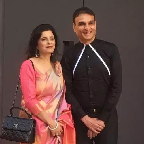 Saloni Batra's Father and Mother