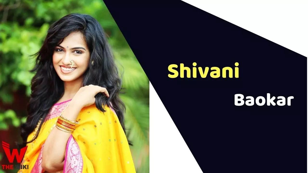 Shivani Baokar (Actress)