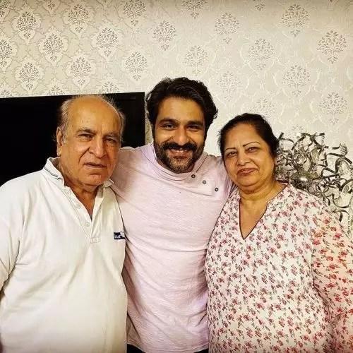 Sunny Hinduja's Parents